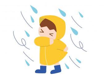 台風と嵐2