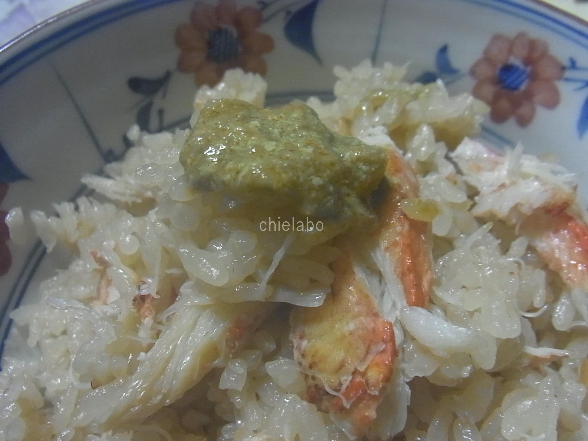 かに手料理2