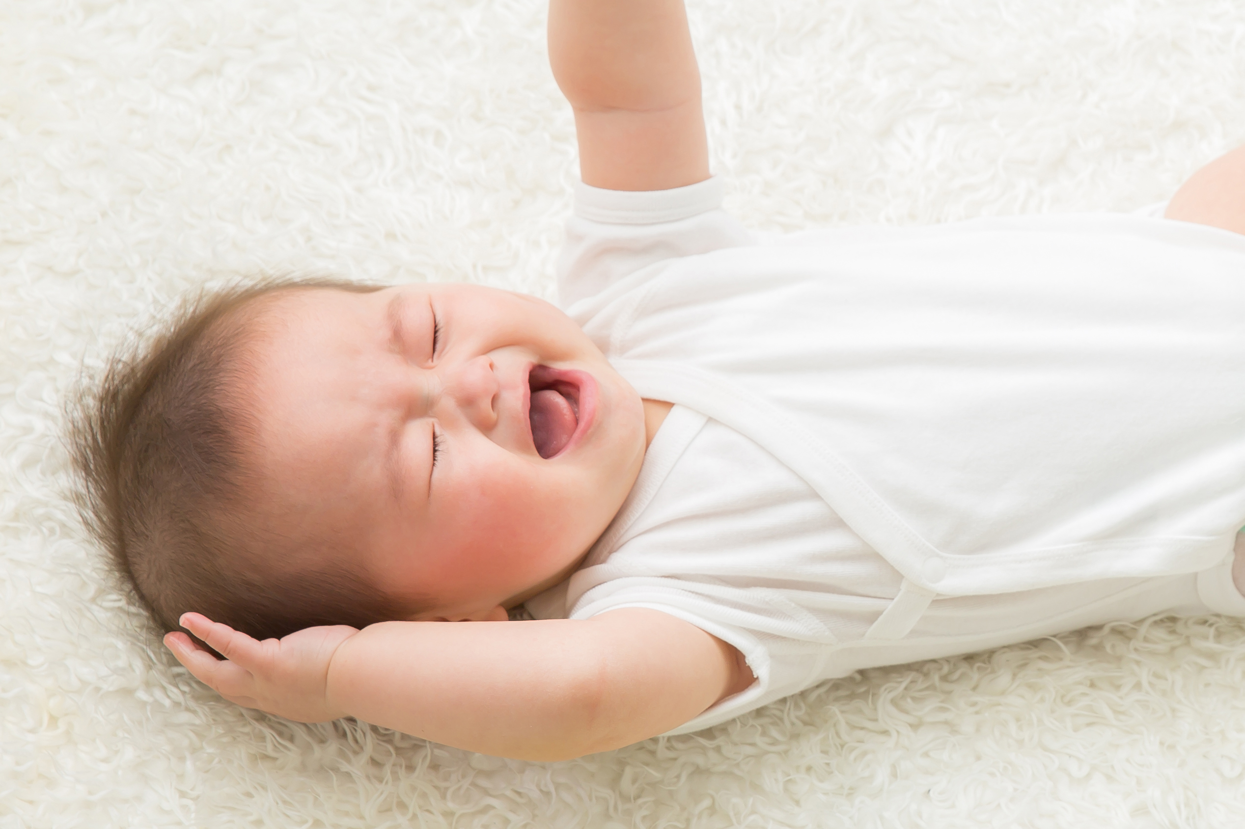 赤ちゃんのぐずり1