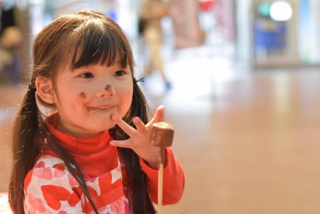 チョコ-子供1