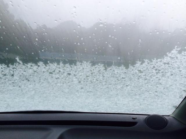 フロントガラス凍結4