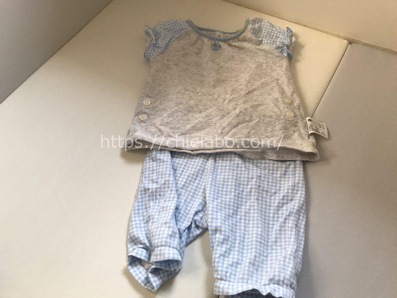 赤ちゃん寝る時の服装梅雨2