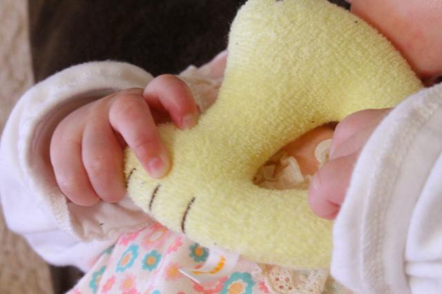 赤ちゃんのらっぱ-2