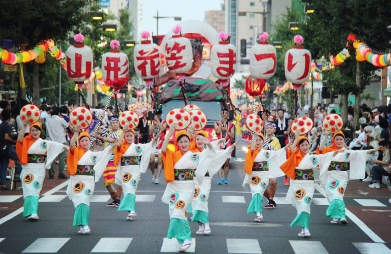 山形花笠祭り-3