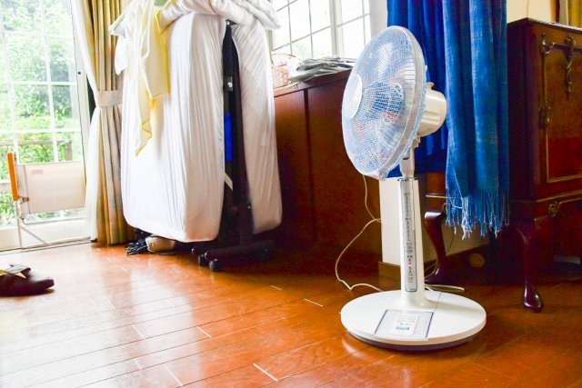 扇風機にほこりがすぐたまる原因は!?